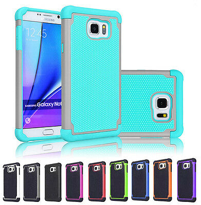 Hard Hybrid Shockproof Rugged Rubber Case Cover For Samsung Galaxy S7 / S7 Edge
