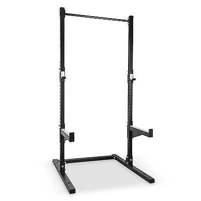 Capital Sports Rackster ━ Half Rack Barre Metal Entrainement Musculation Fitness