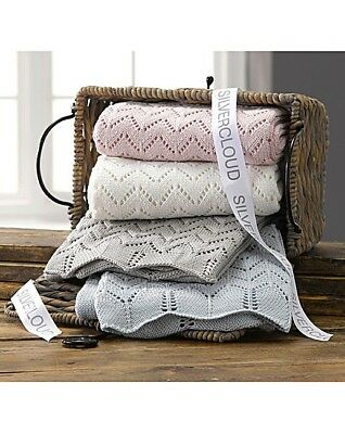 Silver Cloud Baby Boutique Cotton Shawl / Blanket