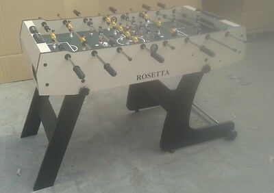 Rosetta 4' Football Soccer Table Vertical Folding Space Saving Foosball