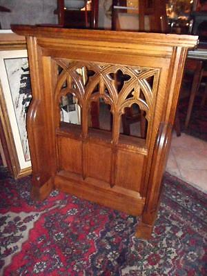 Victorian Scottish solid oak church pew c. 1880