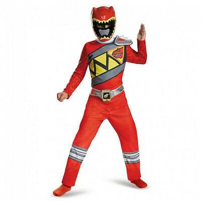 Power Rangers Red Ranger Dino Charge Classic Boys Costume | Disguise 82757