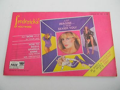 Frederick's of Hollywood Catalog- 1981- Vintage Fashion- Vol 35 Issue 257