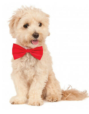 Pet Bowtie Red, Dog/ Cat Classic Red Wedding/Christmas Bow Tie