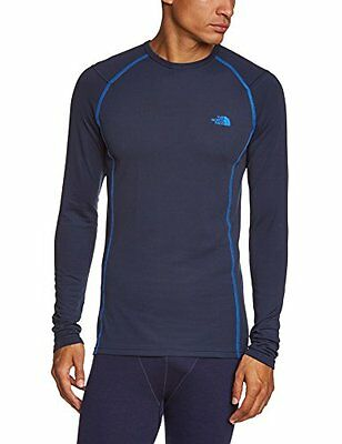 The North Face, Maglia sportiva a maniche lunghe Uomo, Blu (Cosmic Blue), S