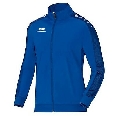 Jako Striker Kinder Polyesterjacke Trainingsjacke Jacke royal Fußball