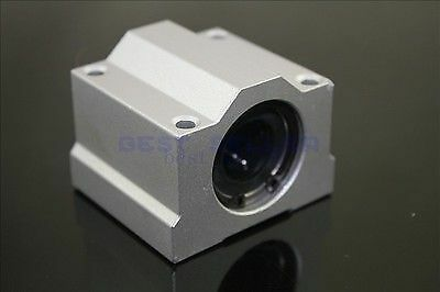 4PCS SCS25UU (25mm) Metal Linear Ball Bearing Pillow Block Unit For CNC SC25UU