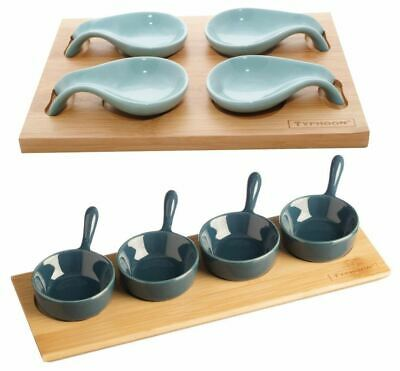 Typhoon Tasting Sets for Appetisers/Canapes/Desserts, Mini Pans or Spoons Design