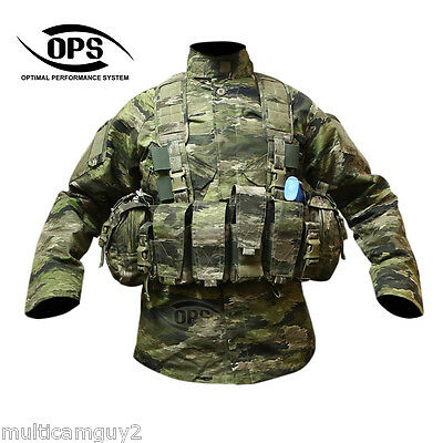 O.P.S/UR-TACTICAL Enhanced Combat Chest Rig in A-TACS IX