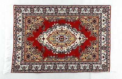 Dolls House Miniature Flooring Accessory Large Turkish Woven Rug Carpet F