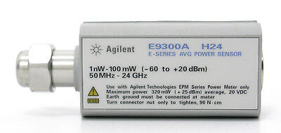 HP Agilent Keysight E9300A H24 N-3.5mm Average Power Sensor 24GHz