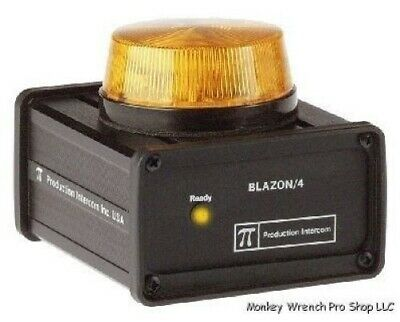 NIB Production Intercom Blazon 4 Signal Light