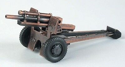 Army Howitzer Cannon Die Cast Metal Collectible Pencil Sharpener