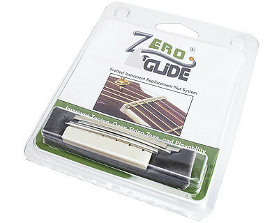 Zero Glide ZS-20 Replacement Nut System for 12-String Guitar, Slotted