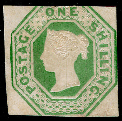Sg54, SCARCE 1s pale green, M MINT. Cat £22000.