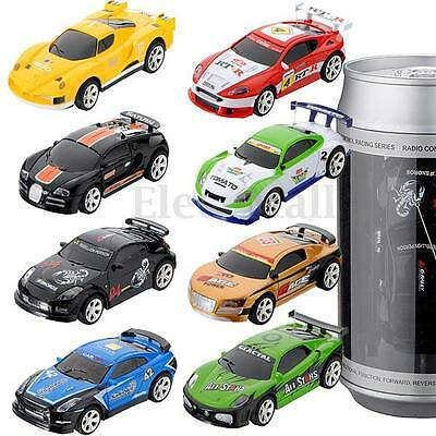 New Mini Coke Can RC Radio Remote Control Racing Car Vehicles Children Gift Toy