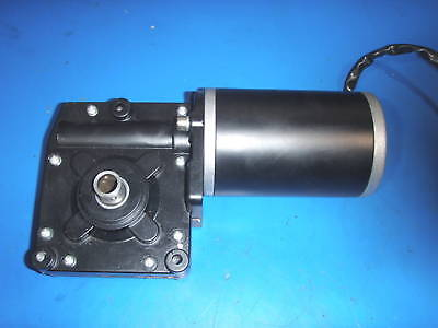 Gear Motor 12 Volt Great For Sawmill/crab Pot Pull/feed/simulator 75-80Rpm 50:1
