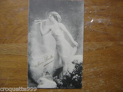 Carte postale Postcard Pin up mode theatre actrice mannequin MARY ROESLER 14