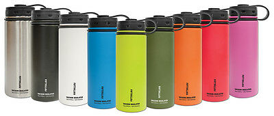Fifty/Fifty Insulated Hydro Water Coffee Bottle Mug Cup Shaker Flask 40 oz