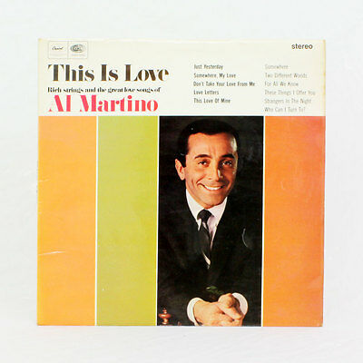 Al Martino - This Is Love - Álbum - Disco de vinilo