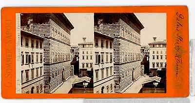 G. Sommer STEREO Italie Florence Palais Strozzi G. Sommer STEREO Italie Florence