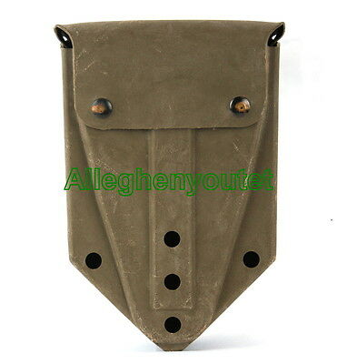 US Military ENTRENCHING TOOL CARRIER E-Tool Army Folding Shovel Case Cover VGC