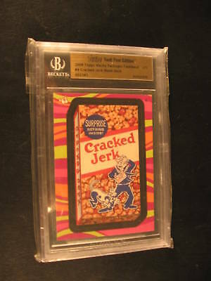 2008 Topps Wacky Packages Flashback #4 1 of 1 Card BGS