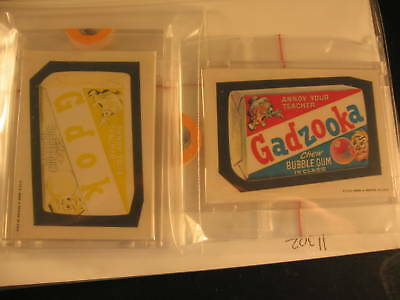 1973 Topps Wacky Packages Series 1 Proofs Gadzooka