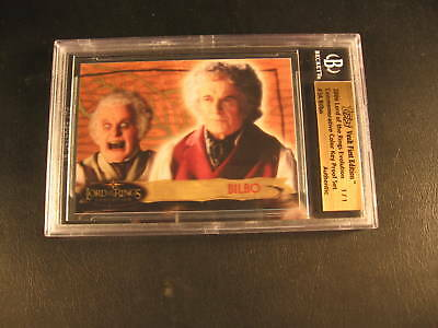 2006 Topps Vault Lord of Rings Proof #3A BGS 1/1