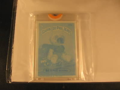 1986 Topps Garbage Pail Kids Series 6 Blue Proof #231B