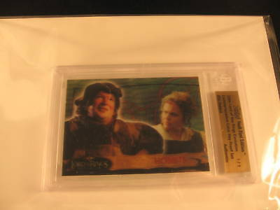 2006 Topps Vault Lord of the Rings Proof #56 BGS 1/1