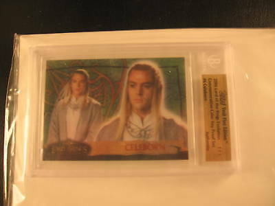 2006 Topps Vault Lord of the Rings Proof #6 BGS 1/1
