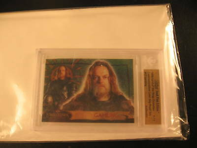 2006 Topps Vault Lord of the Rings Proof #17 BGS 1/1