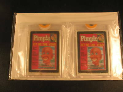 1985 Topps Wacky Packages (2) Proof Set #13 Pimple
