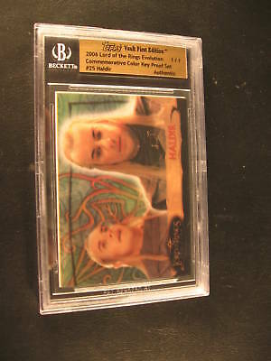 2006 Topps Vault Lord of Rings Color Key Proof Set #25