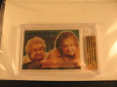 2006 Topps Vault Lord of the Rings Proof #12 1/1 BGS