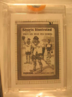 1986 Topps Wacky Packages Transpar. Shorts Illustrated