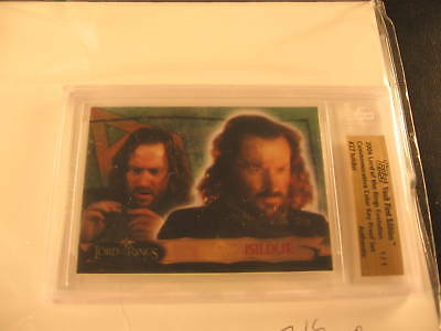2006 Topps Vault Lord of the Rings Proof #27 BGS 1/1