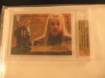 2006 Topps Vault Lord of the Rings Proof #12A BGS 1/1