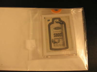 1986 Topps Wacky Packages Original Transparency Snoot