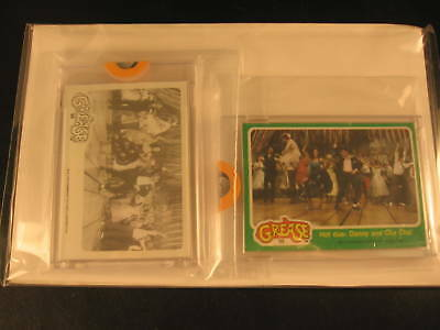 1978 Topps Grease Movie (2) Proof Card Set #98