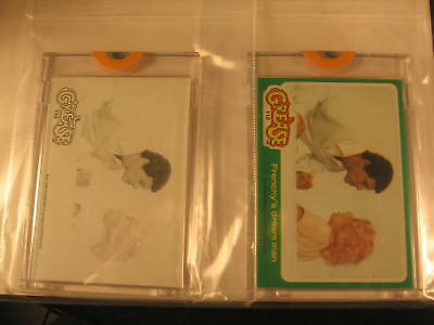 1978 Topps Grease Movie (2) Proof Card Set #110