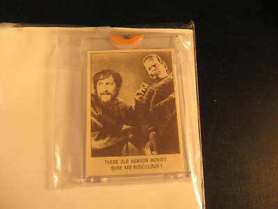 1973 Topps Creature Feature Paper Proof #116