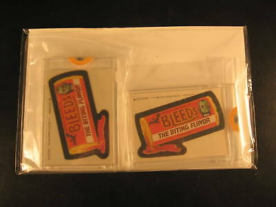1980 Topps Wacky Packages (2) Proof Set #207 Bleeds
