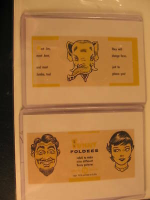 1949 Topps Funny Foldees Proof Cards #16