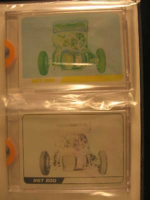 1968 Topps Hot Rods PROOF SET