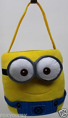 Despicable Me Minions Paperboard Easter Bucket Basket Pail Free Ship