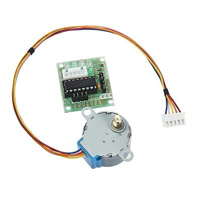 5V Stepper Motor 28BYJ-48 With Drive Test Module Board ULN2003 5 Line 4 Phase G#