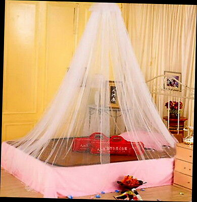 Elegant Round Lace Insect Bed Canopy Netting Curtain Dome Mosquito Net G#