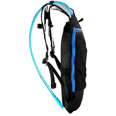 Cycling Bicycle Hiking 4L Multifunctional Backpack + Hydration Water Bag G#